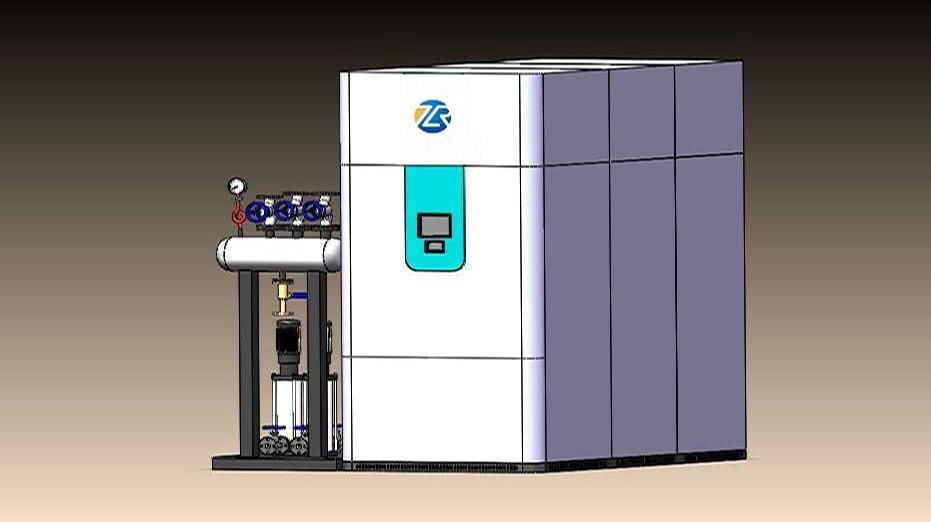 1吨免监检燃气蒸汽发生器